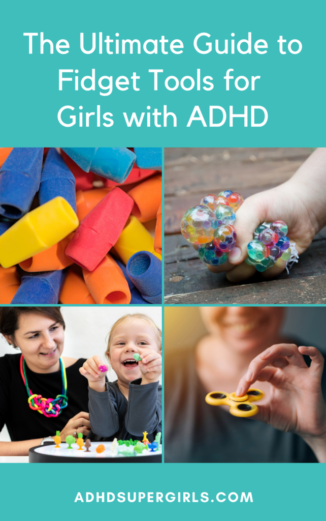 Girls with ADHD do not respond to lessons and communication in the same way as girls without ADHD. That is where fidget tools for ADHD come into play.