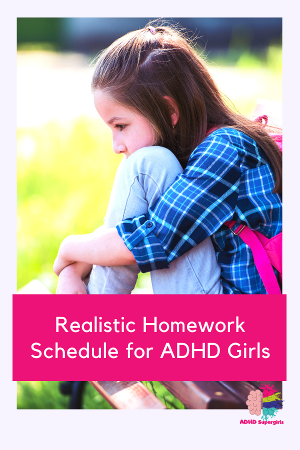 Homework Schedule for Girls with ADHD