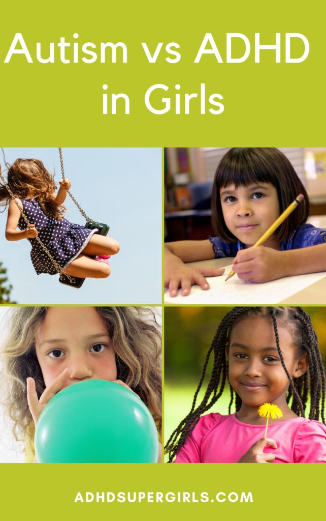 adhd vs autism girls