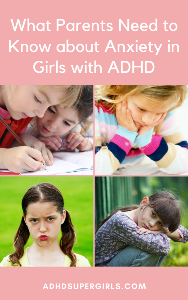 anxiety in girls with adhd