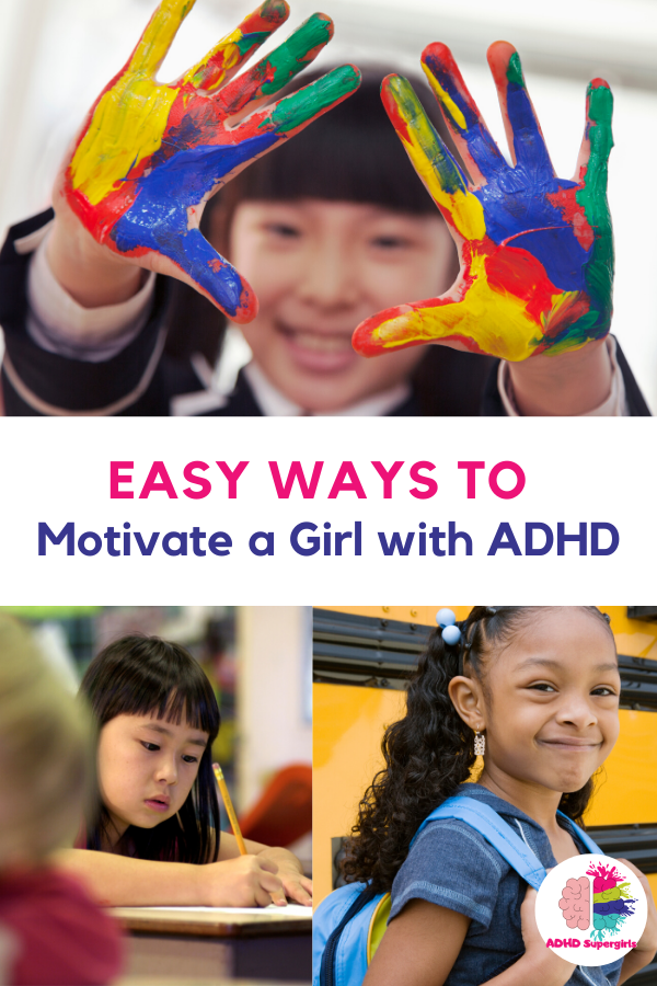 Over the years of working with my daughters, I've found that there is a good way to try and motivate a girl with ADHD, and there are a bunch of really bad ways to motivate that same girl. Today, I'm sharing the ADHD motivation tips for girls that work best in our family of ADHD girls.