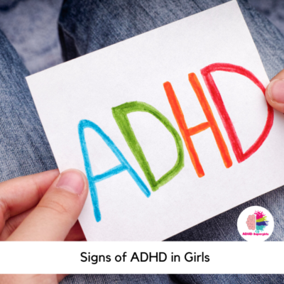 signs of adhd in girls