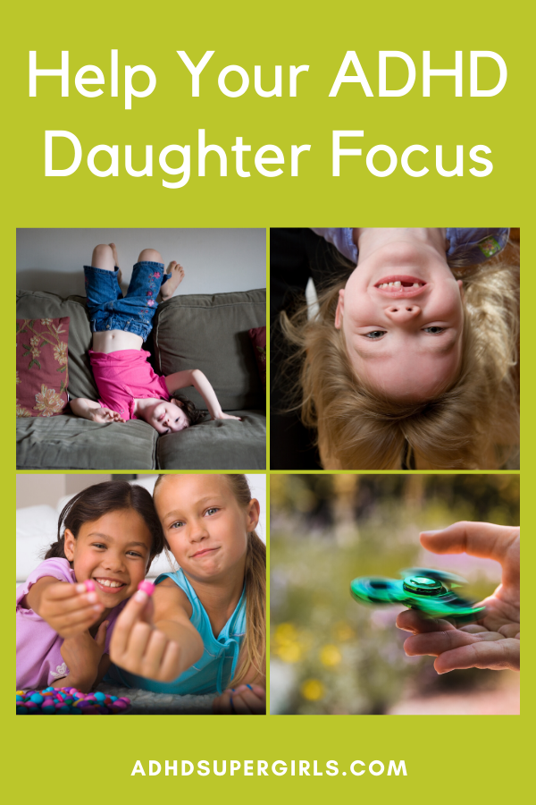 One of the biggest challenges with ADHD girls is their difficulty in focusing during school or homework time. These 7 strategies can help girls with ADHD focus and perform better in school.