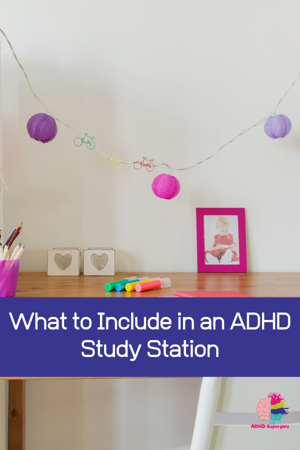 adhd homework space