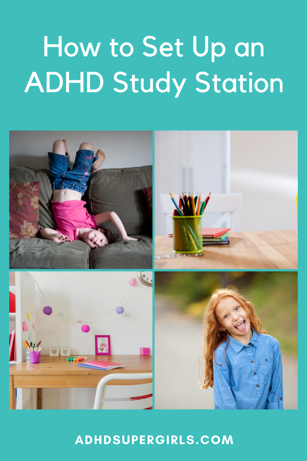 help girls with adhd study