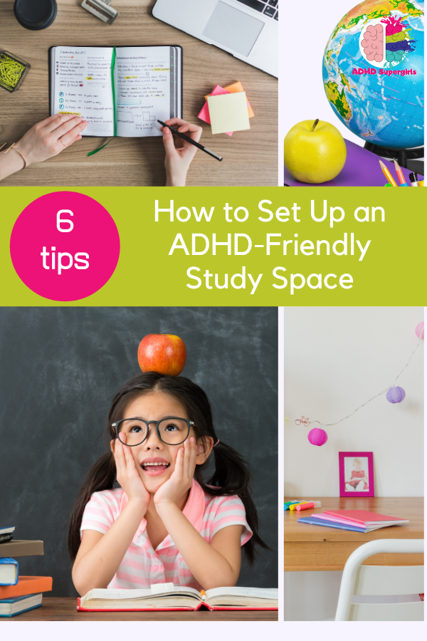 When your daughter has ADHD, she needs accommodations to succeed in school and at home. Use this guide to help you set up an ADHD-friendly study space for girls.