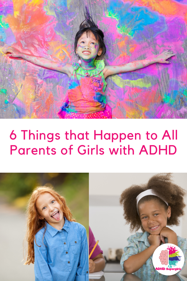 Do you have a daughter with ADHD? If you're parenting girls with ADHD, then you will be able to relate to these things.