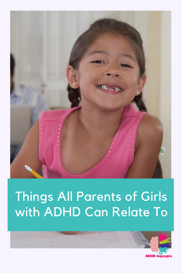 relatable things girls adhd