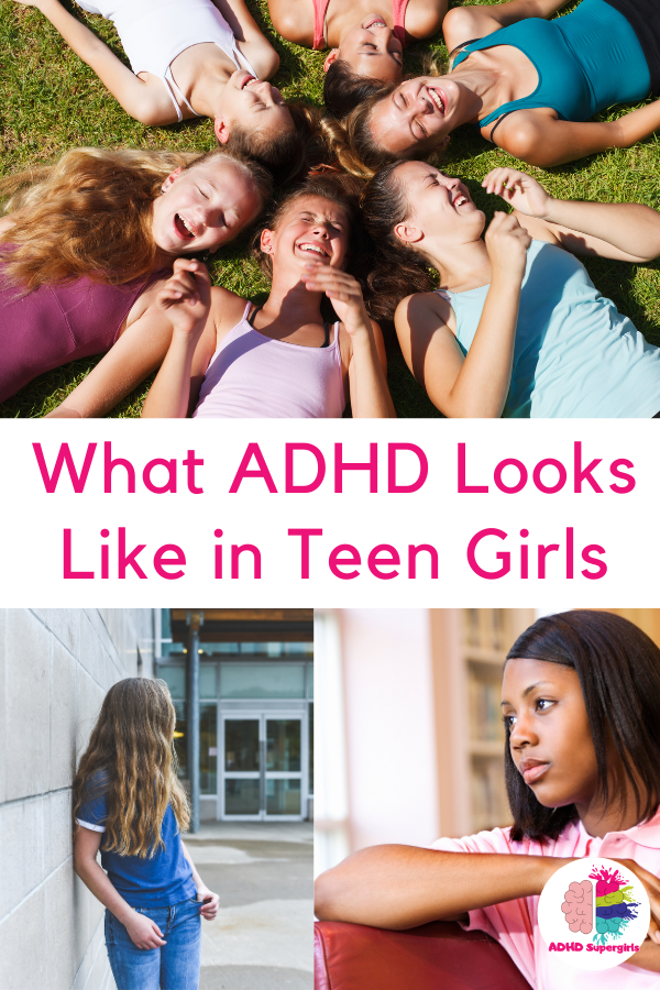 symptoms of adhd in teen girls