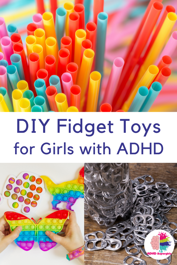 DIY fidget toys for girls with ADHD are easy to make and a fun way to bond. So many fun fidget toys to make!