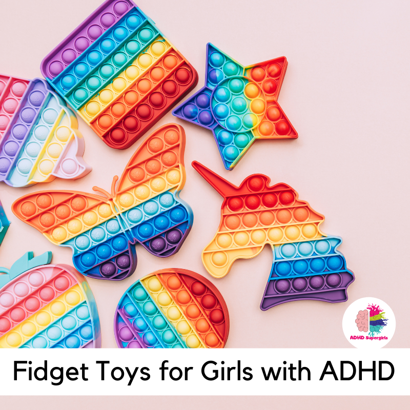 Fidget toys for girls with ADHD are easy to make! Try these homemade fidget ideas and find out just how much fun it is!